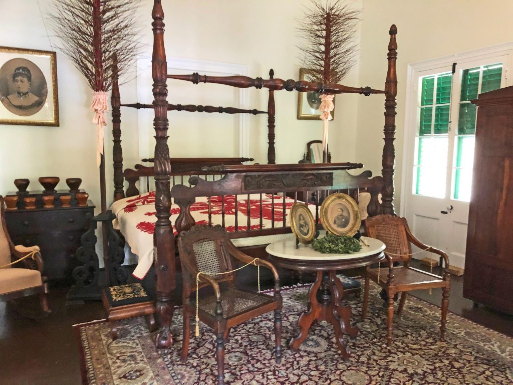 Photo of The bed of King Alexander ʻIolani Liholiho